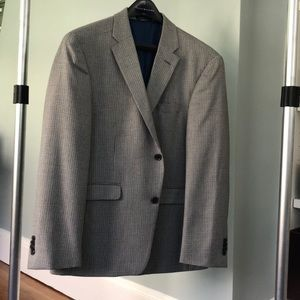Tommy Hilfiger Sport Coat Grey Tweed Houndstooth